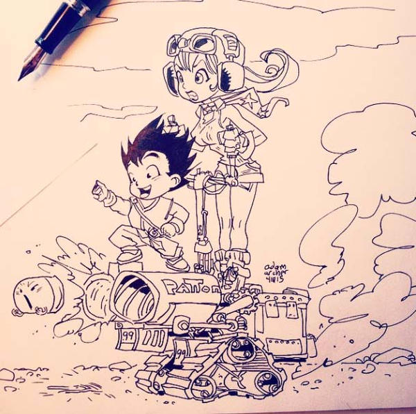 dragon ball by a-archer