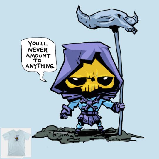 skeletor shirt