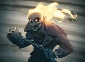 Ghostrider by a-archer