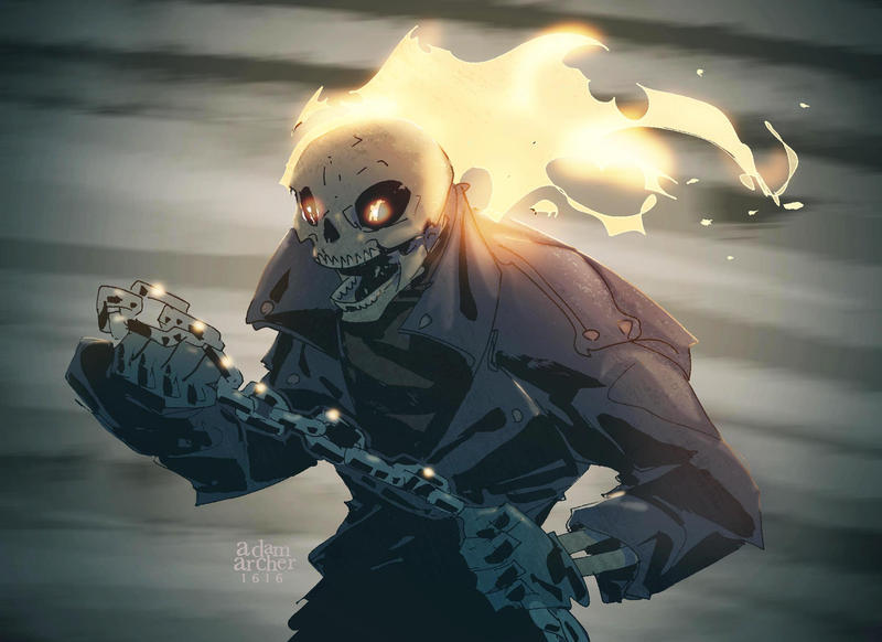 Ghostrider by a-archer