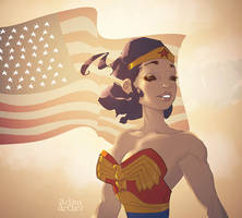 Wonder woman by a-archer