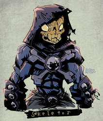 Skeletor by a-archer