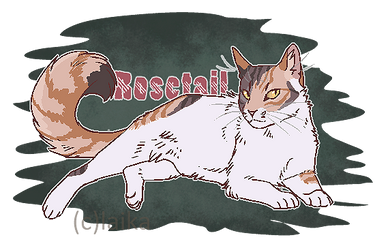 Rosetail by Iycanroc
