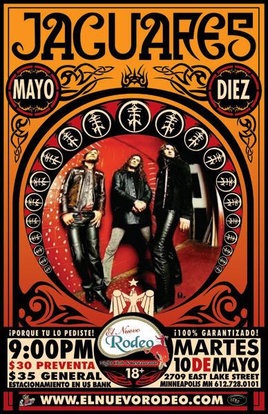 Mx Jaguares Poster by mx1975