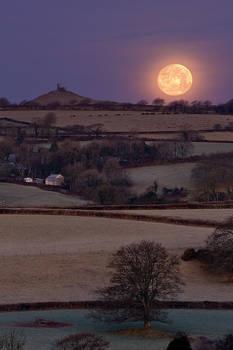 Moonset Sunrise