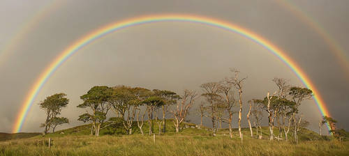 A world within a rainbow