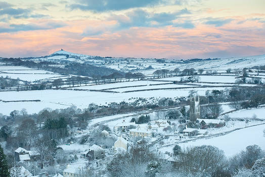 Peter Tavy Winter Morning