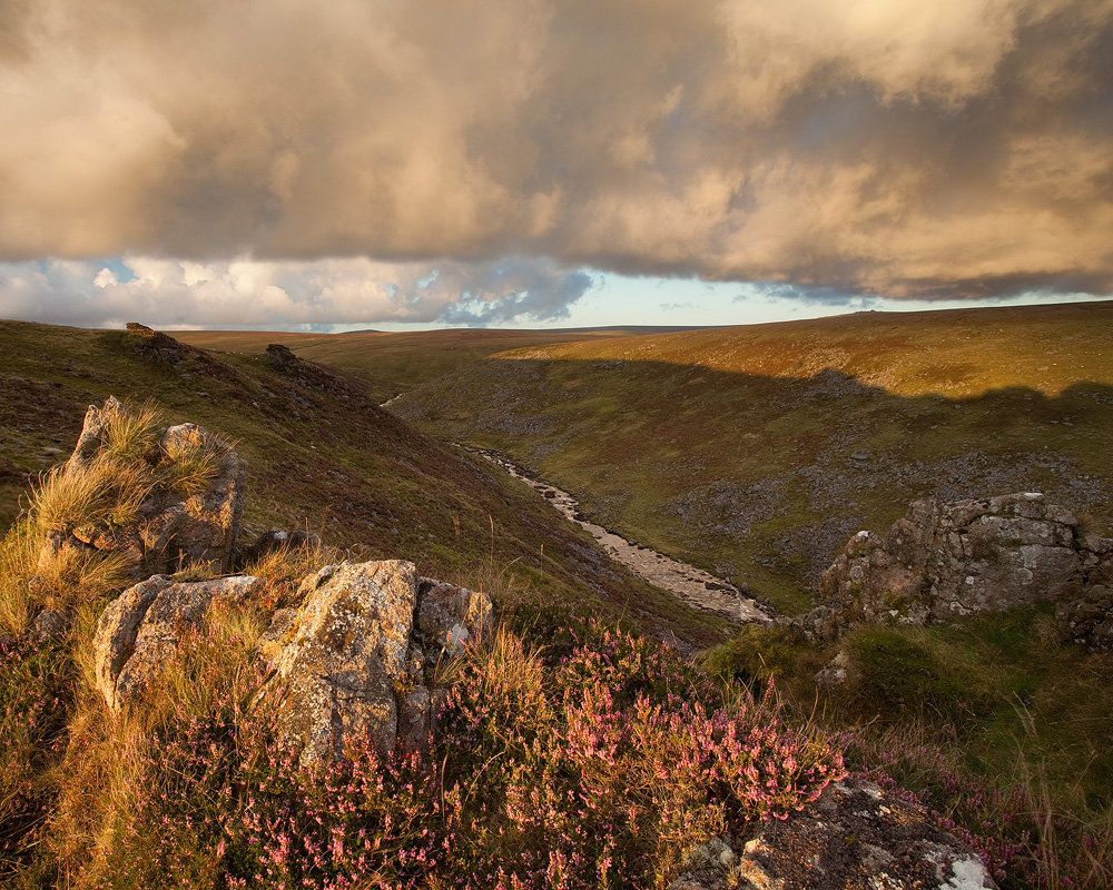 Stormy Sunset, Tavy Cleave by Alex37