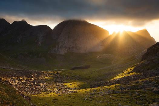 Lofoten Sunburst