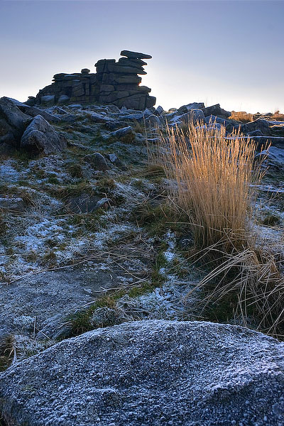 Frost on Staple Tor by Alex37