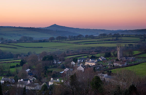 Pastels of Peter Tavy by Alex37