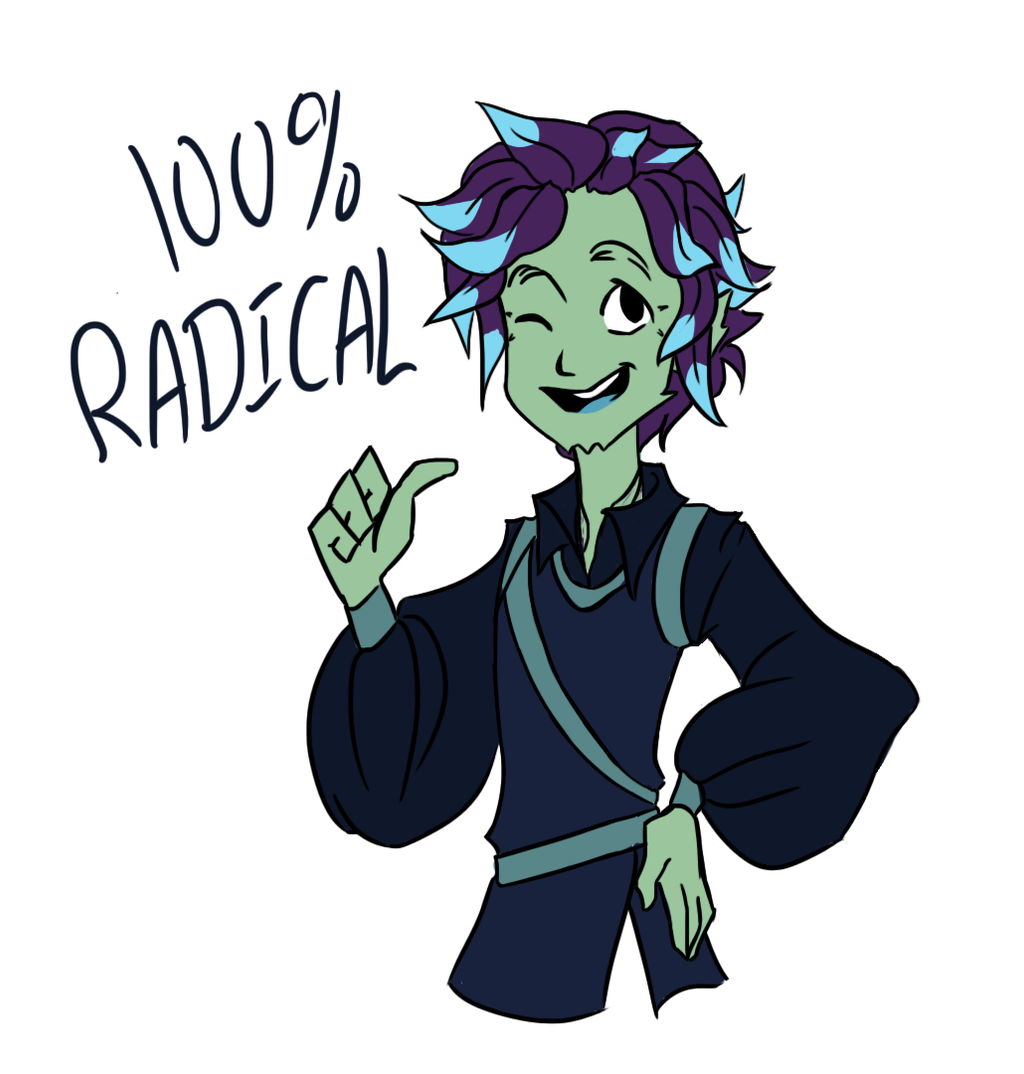 Radical! by LenKitten