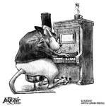 Inktober 2020 // 6. Rodent