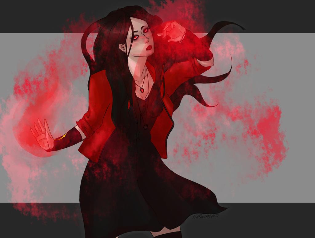 Scarlet witch by Tsirpx3