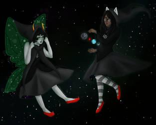 Cute space girls by Tsirpx3