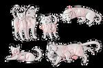 Feline Lineart pack | P2U