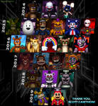 The FNaF Legacy - 5-Year Anniversary
