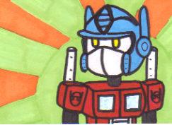 Optimus Prime by Robomonkey82