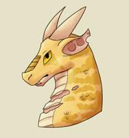 Dragon Doodle by DrowsyInsomnia