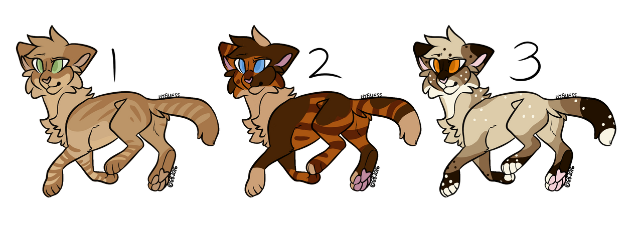 100 Point Cat Adopts - 2/3 OPEN by DrowsyInsomnia