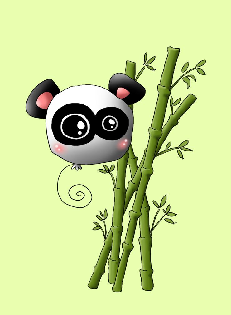 Panda S Bamboo By Rhiez
