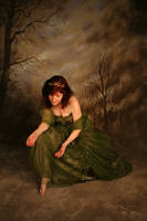 Fairy Queen Crouching : Stock by Ange1ica-Stock