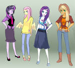 MLP: College gals