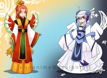 Gijinka: yin and yang