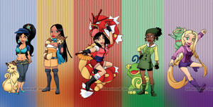 Pokemon Trainer Xover: Princesses2