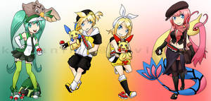 Pokemon Trainer Xover: Vocaloids1