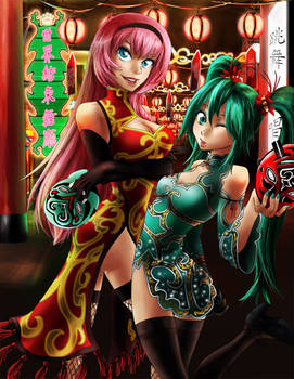 Vocaloid: Chinatown Babes