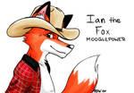 Ian the Fox's ConBadge