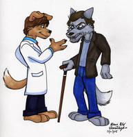 I am a grumpy, cynical wolf by DeviDarkWolf