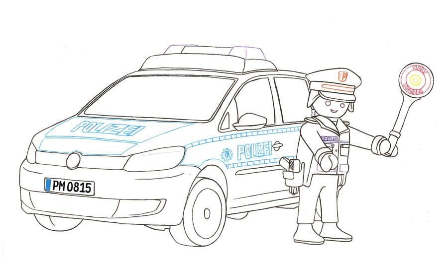 vw touran polizeiplaymobilnessi6688