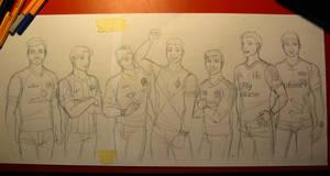 Endlich wieder Fussball Sketch by nessi6688