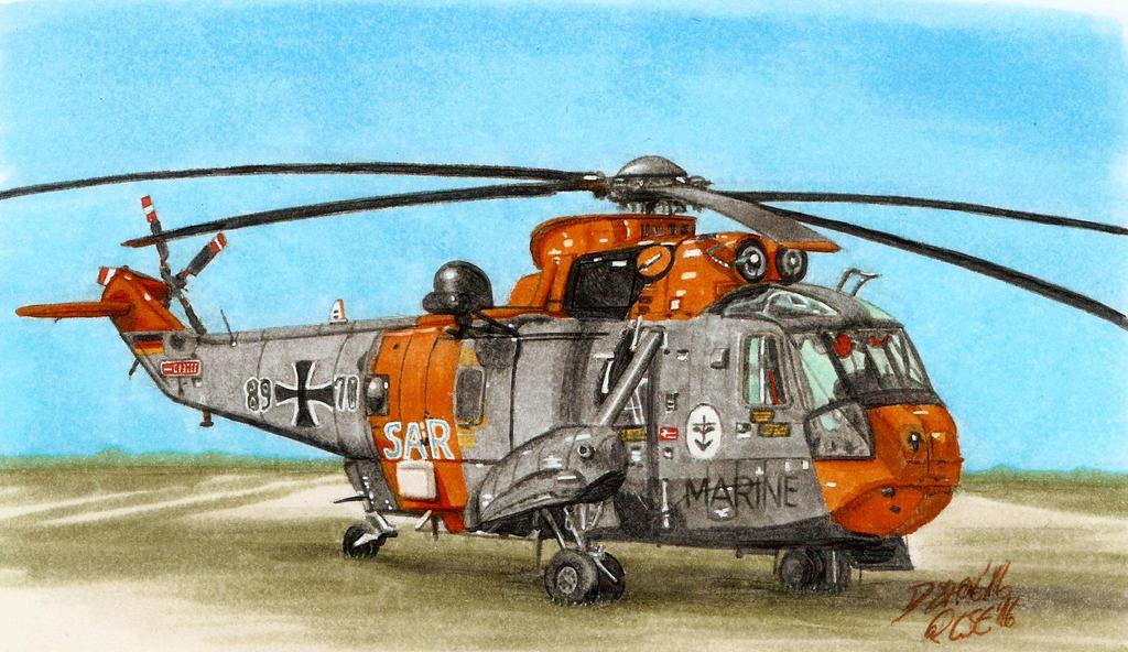 Westland Sea King Mk. 41 German Navy SAR