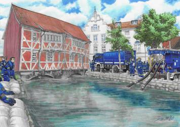 Alarm in Wismar