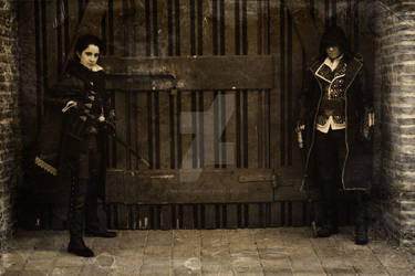Evie and Jacob Frye