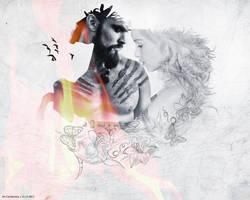 Dany and Drogo Wallpaper by Catriiona