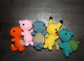 Crochet Pokemon by Robotic-Gorgon