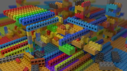 Lego random blocks