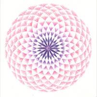 Mandala - Crown chakra by Martilena