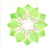 Mandala - Heart chakra by Martilena