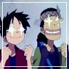 Luffy and Usopp by Viryalex13
