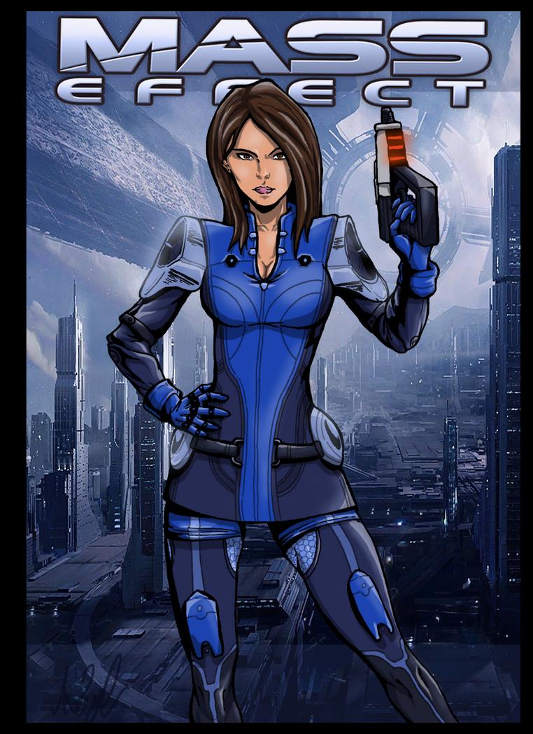 Ashley Williams Mass Effect by Abylaikhan