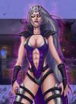 Sindel queen of Edenia  Mortal Kombat X