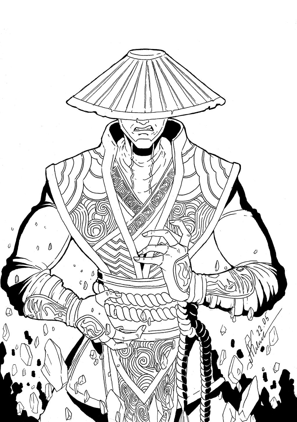 Mortal Kombat Raiden Drawings Raiden Mortal Kombat X...