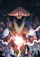 Raiden Mortal Kombat X by Abylaikhan