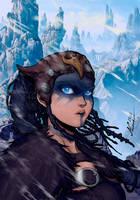 Senua - Hellblade by Abylaikhan