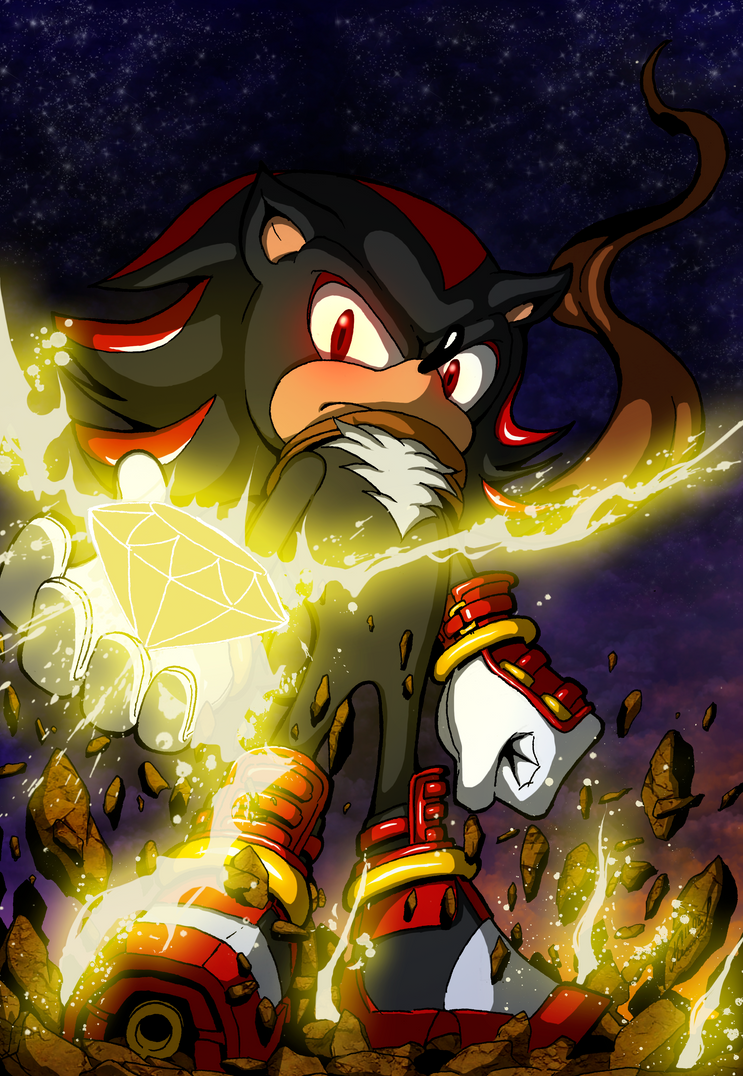 Shadow the hedgehog Sonic Boom color by Abylaikhan on ...